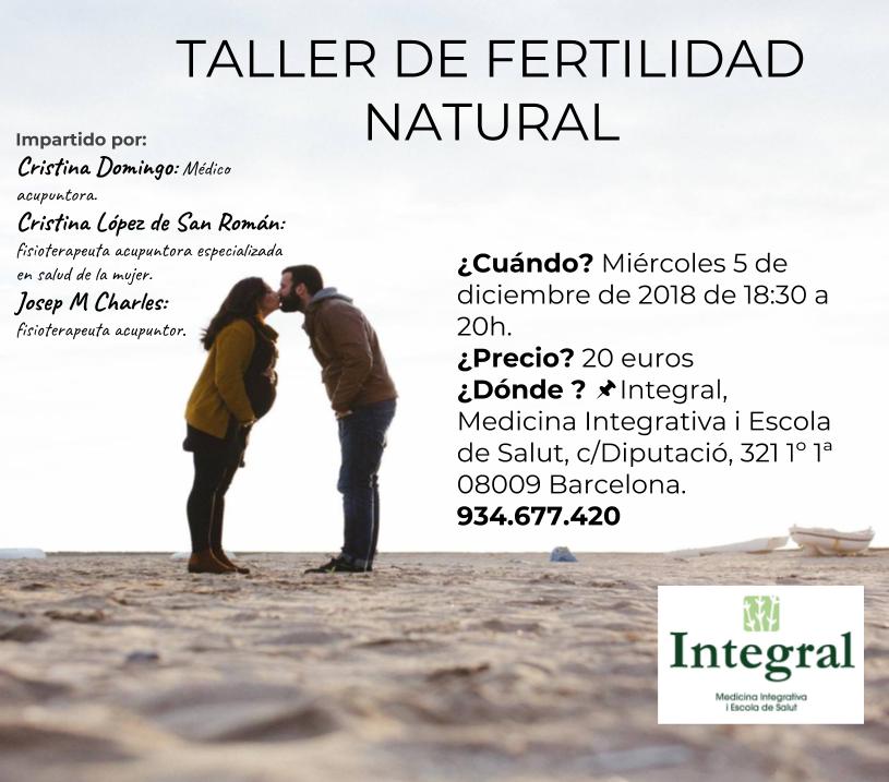 Taller fertilidad natural