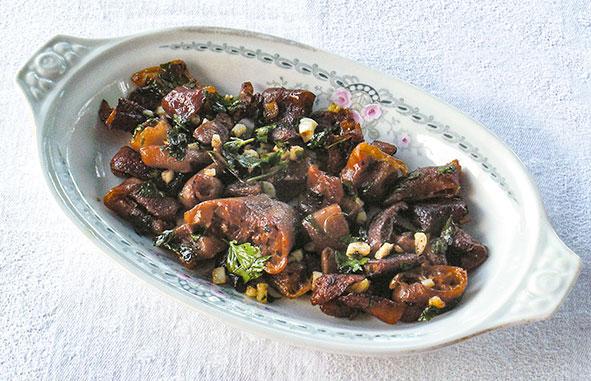 receta cochayuyo ajo y perejil