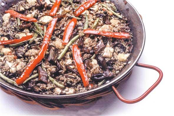 paella alga cochayuyo